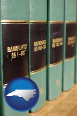 north-carolina bankruptcy law books