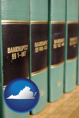 virginia bankruptcy law books