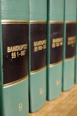 bankruptcy law books