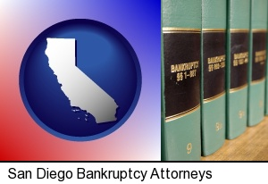San Diego, California - bankruptcy law books
